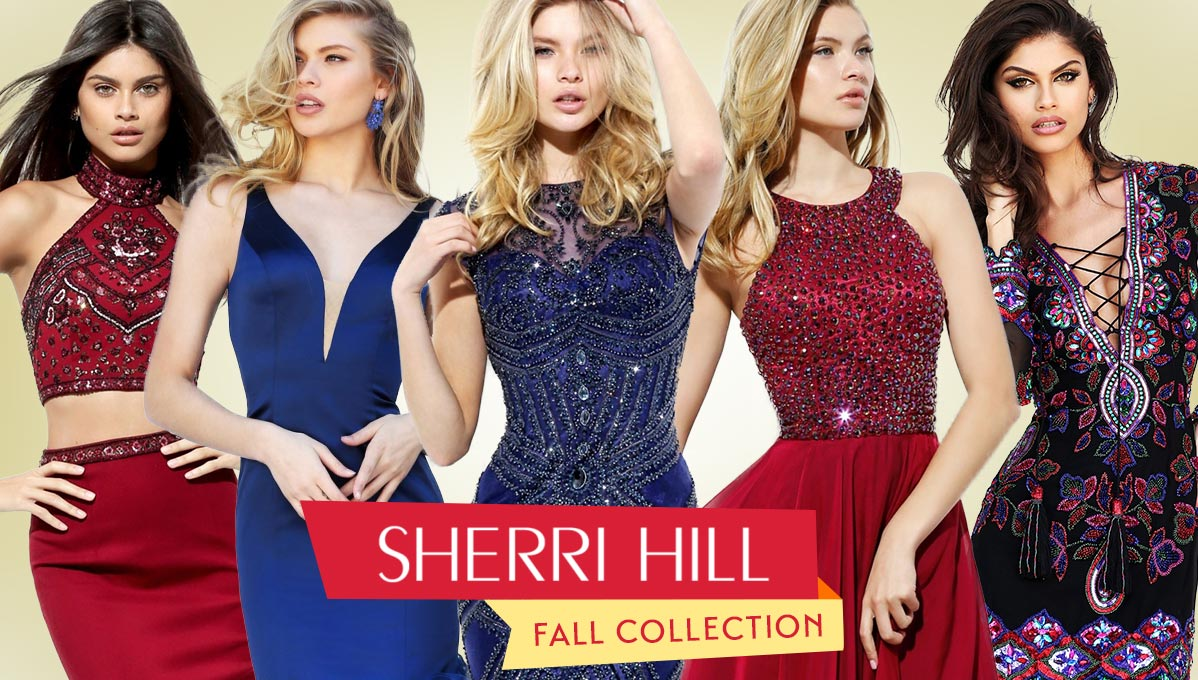 Sherri Hill Fall 2016 Collection
