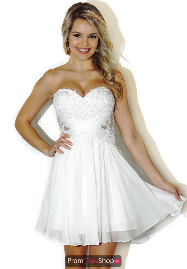 La Femme Short Dress 20632 | PromDressShop.com