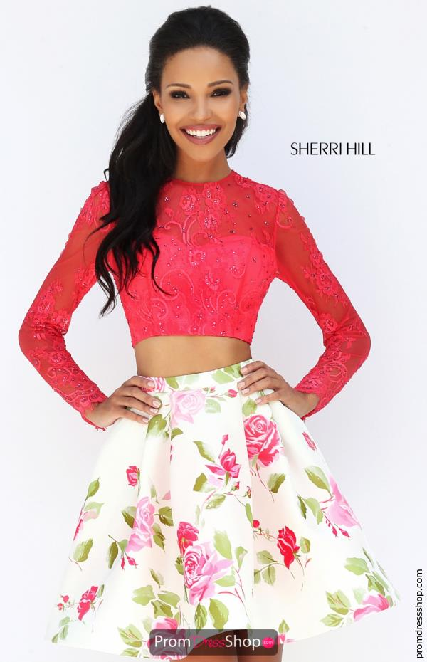 Sherri Hill Short Dress 50563 At Prom Dress Shop