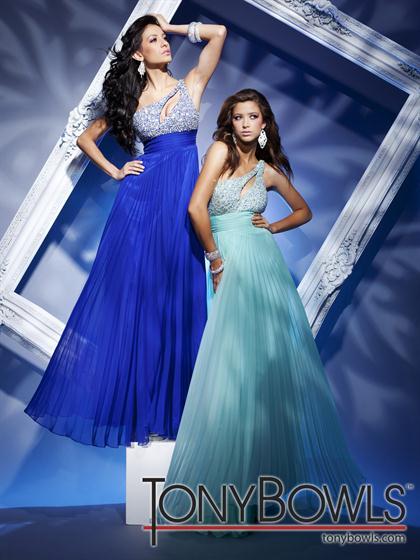 Royal Blue and Aqua