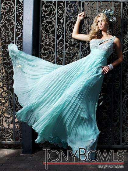 One Shoulder 2012 Le Gala Prom Dress 112503