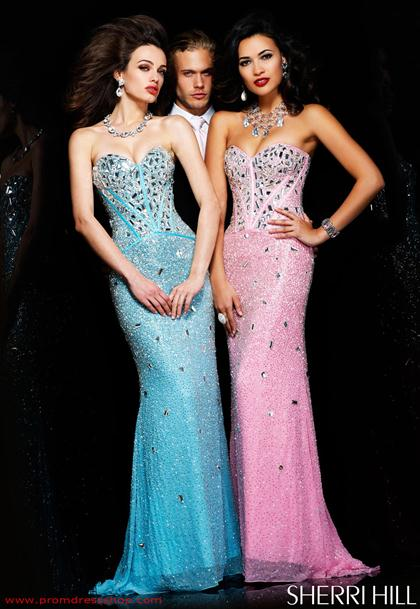 Beaded Dress 1435 By Sherri Hill