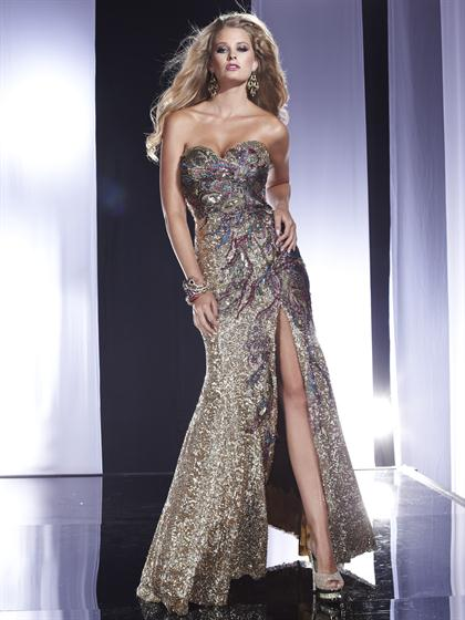 Long Sexy 2012 Panoply Prom Dress 14486