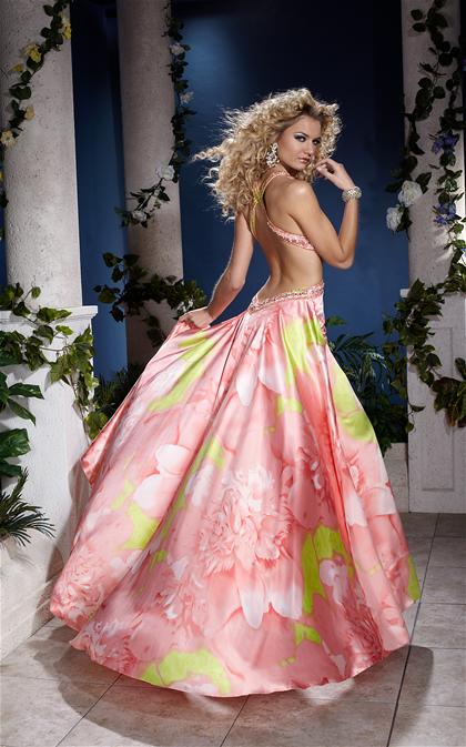 2012 Long Sexy Prom Dress By Panoply 14510
