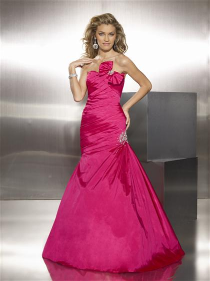 Mori Lee Corset Lace Up 2012 Prom Dress 8741