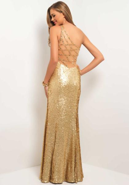 Prom Gold Dresses - Long Dresses Online