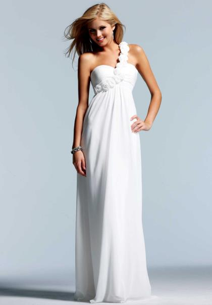 Faviana One Shoulder 2013 Homecoming Dress 6787