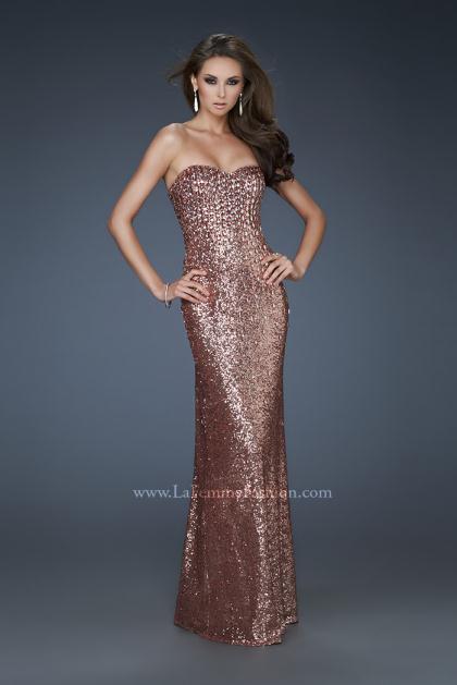 Copper Long Prom Dresses Fashion Dresses