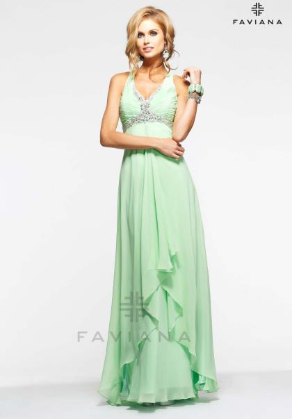 Faviana Long Dress 6916