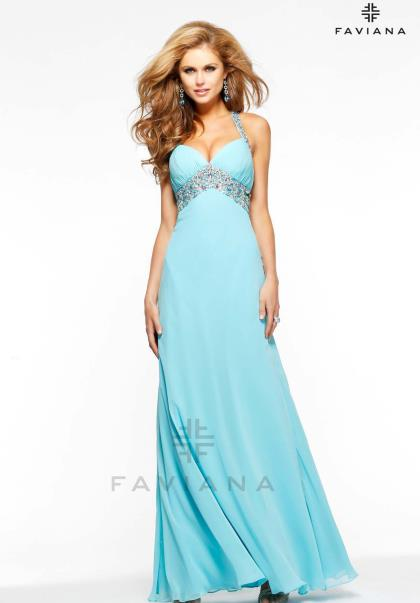 Faviana 7118 at Prom Dress Shop