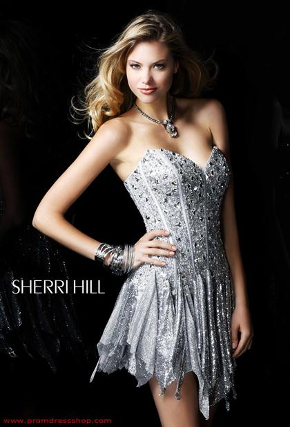 Sherri Hill Short Dress 2866 at Prom Dress Shop