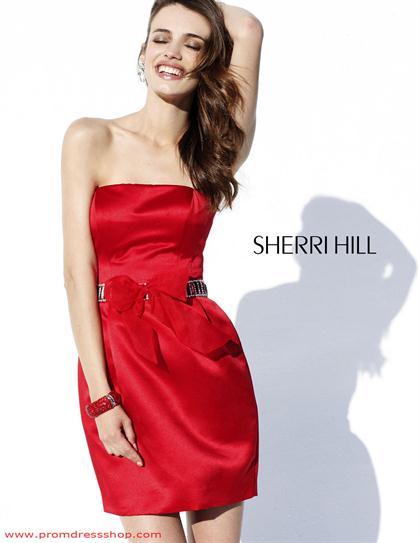 Sherri Hill Short Dress 2871 at Prom Dress Shop