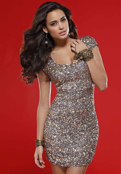 Scala 2012 Sleeved Prom Dress 47250