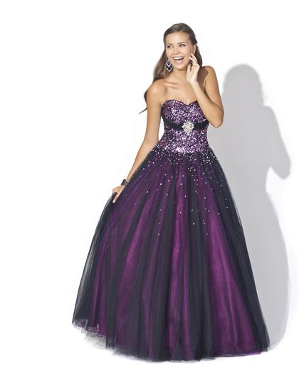 2012 Strapless Prom Dress by Blush Style 5127