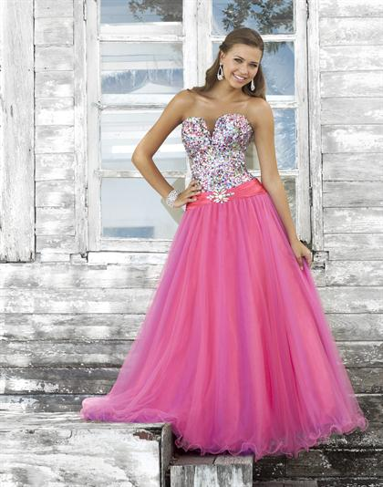 Blush 5130 at Prom Dress Shop