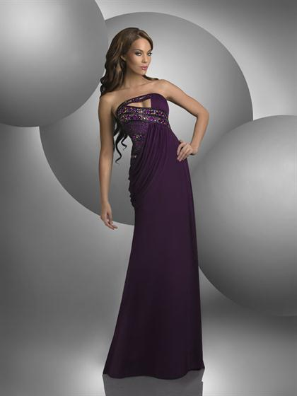Shimmer 2013 Strapless Prom Dress 59401