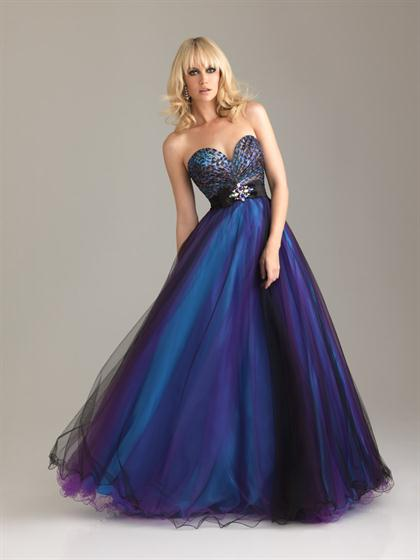 A Line 2012 Night Moves Prom Dress 6462
