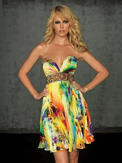 Evenings by Allure A308S Dress - PromDressShop.com