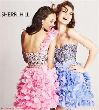 Sherri Hill Short Dress 8423 at Prom Dress Shop