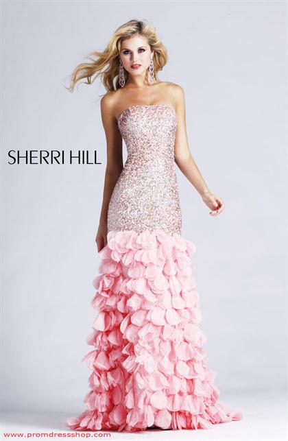 2012 Fitted Sherri Hill Prom Dress 8434