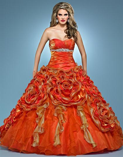 Landa Quinceanera AQ11 at Prom Dress Shop