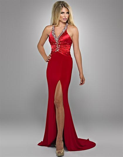 2012 Red Landa Pageant Dress GE679