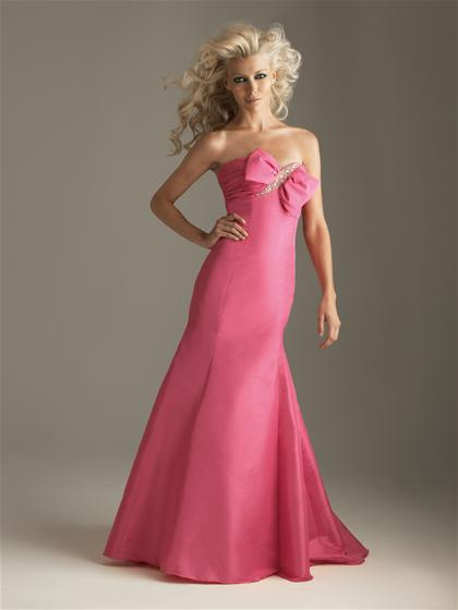 2012 Strapless Night Moves Prom Dress 6288