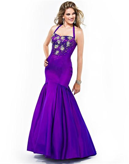 2012 Strapless Mermaid Cire' Prom Dress PE272