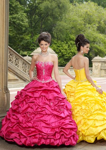 2012 Lace Up Corset Vizcaya Dress 87069