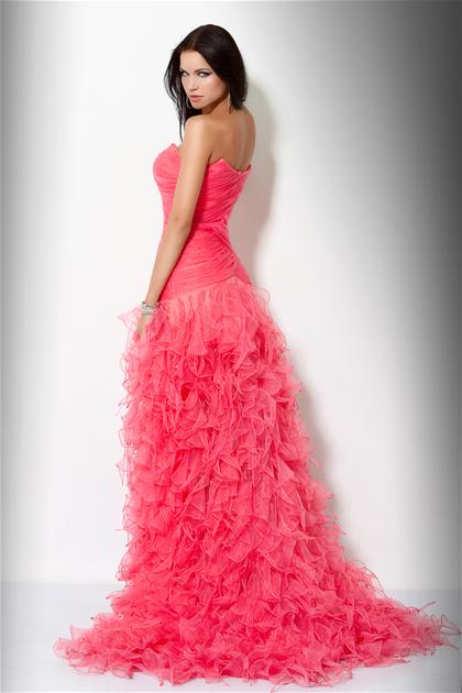 2012 Ruffled Prom Dress 7333 by Jovani