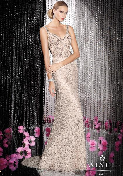 2014 Alyce Paris Fitted Homecoming Dress 5589