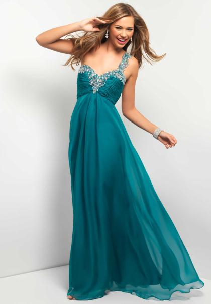 2013 Blush One Shoulder 9373 Homecoming Dress