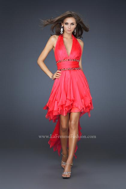 La Femme Short 16986 at Prom Dress Shop