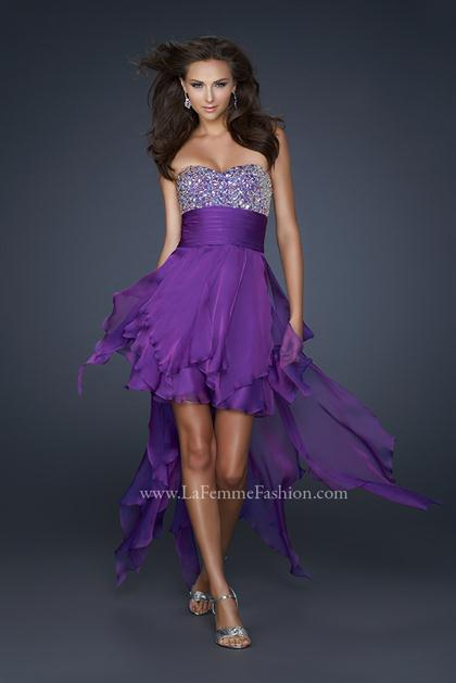 La Femme 17687 at Prom Dress Shop