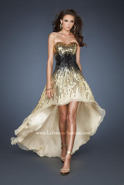 Black Gold Prom Dresses - Holiday Dresses
