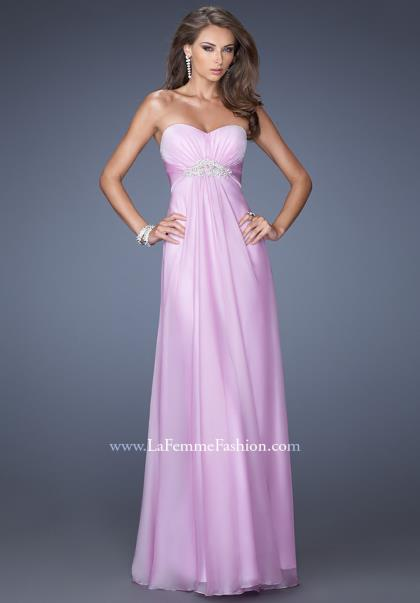 La Femme A Line Dress 19759