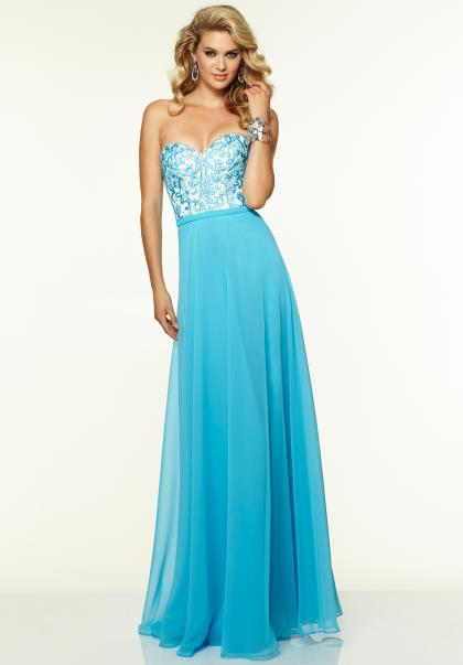 Carolina Blue Prom Dresses 84