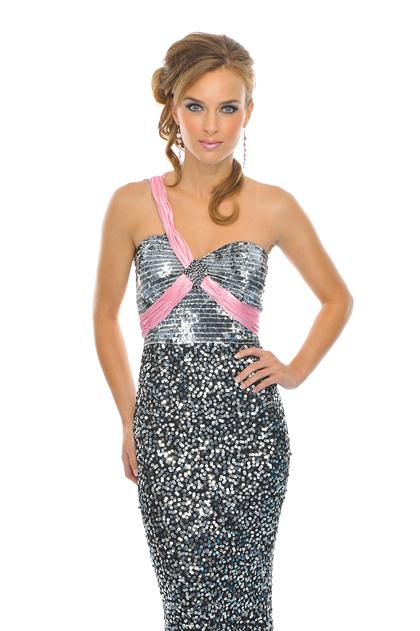 2015 Precious Formals P8707 at Prom Dress Shop