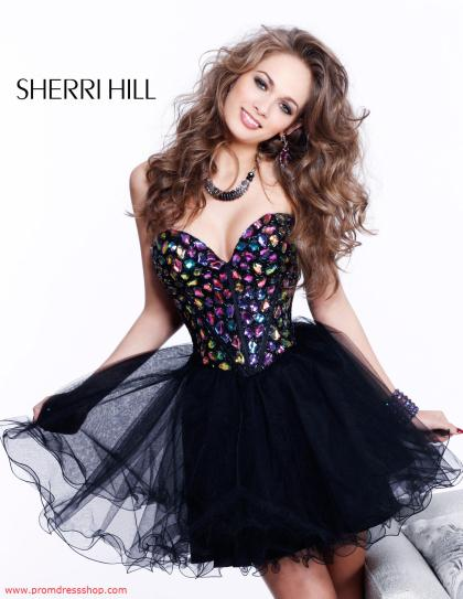 Sherri Hill Short Dress1530 at Prom Dress Shop