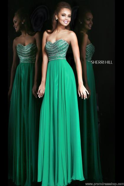 2014 Sherri Hill Sweetheart Prom Dress 8546
