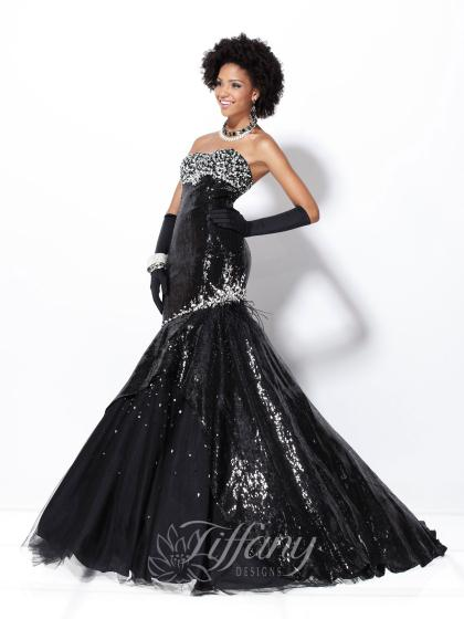 Tiffany 16721 at Prom Dress Shop