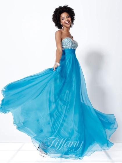 Tiffany 16722 at Prom Dress Shop