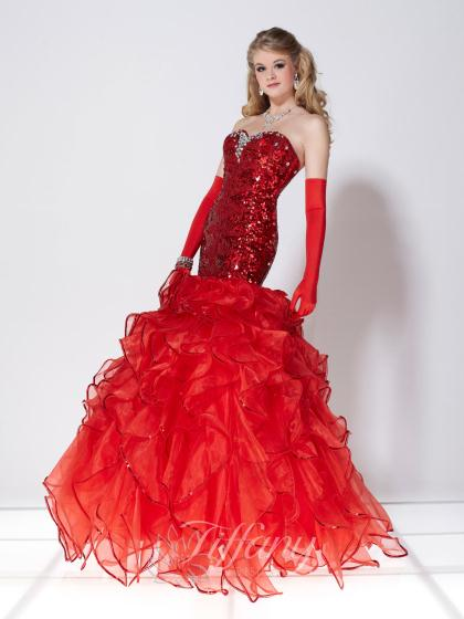 Tiffany 16724 at Prom Dress Shop
