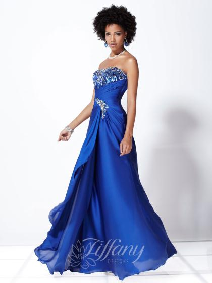Tiffany 16727 at Prom Dress Shop