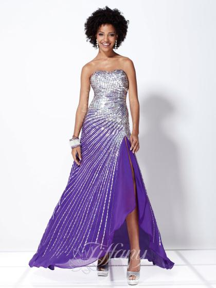 Tiffany 16730 at Prom Dress Shop