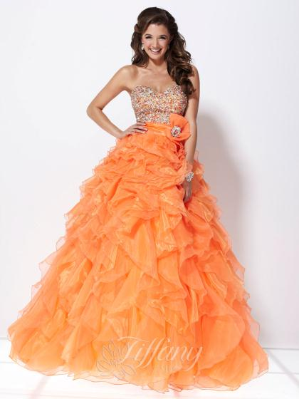 Tiffany 16896 at Prom Dress Shop