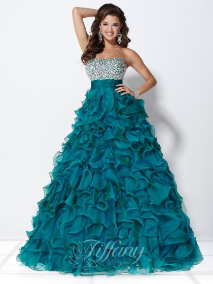 Tiffany 16898 at Prom Dress Shop