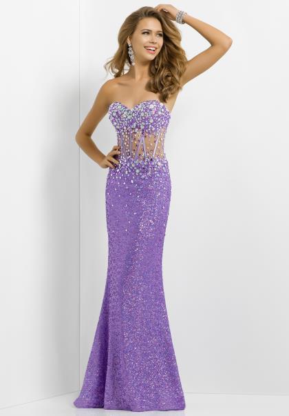 Lavendar Prom Dresses 20