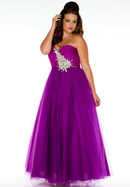 Cassandra Stone Plus Size Prom Dresses 47
