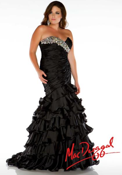 Fabulouss Plus Size 4978F at Prom Dress Shop